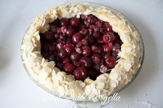 cherry cranberry galette
