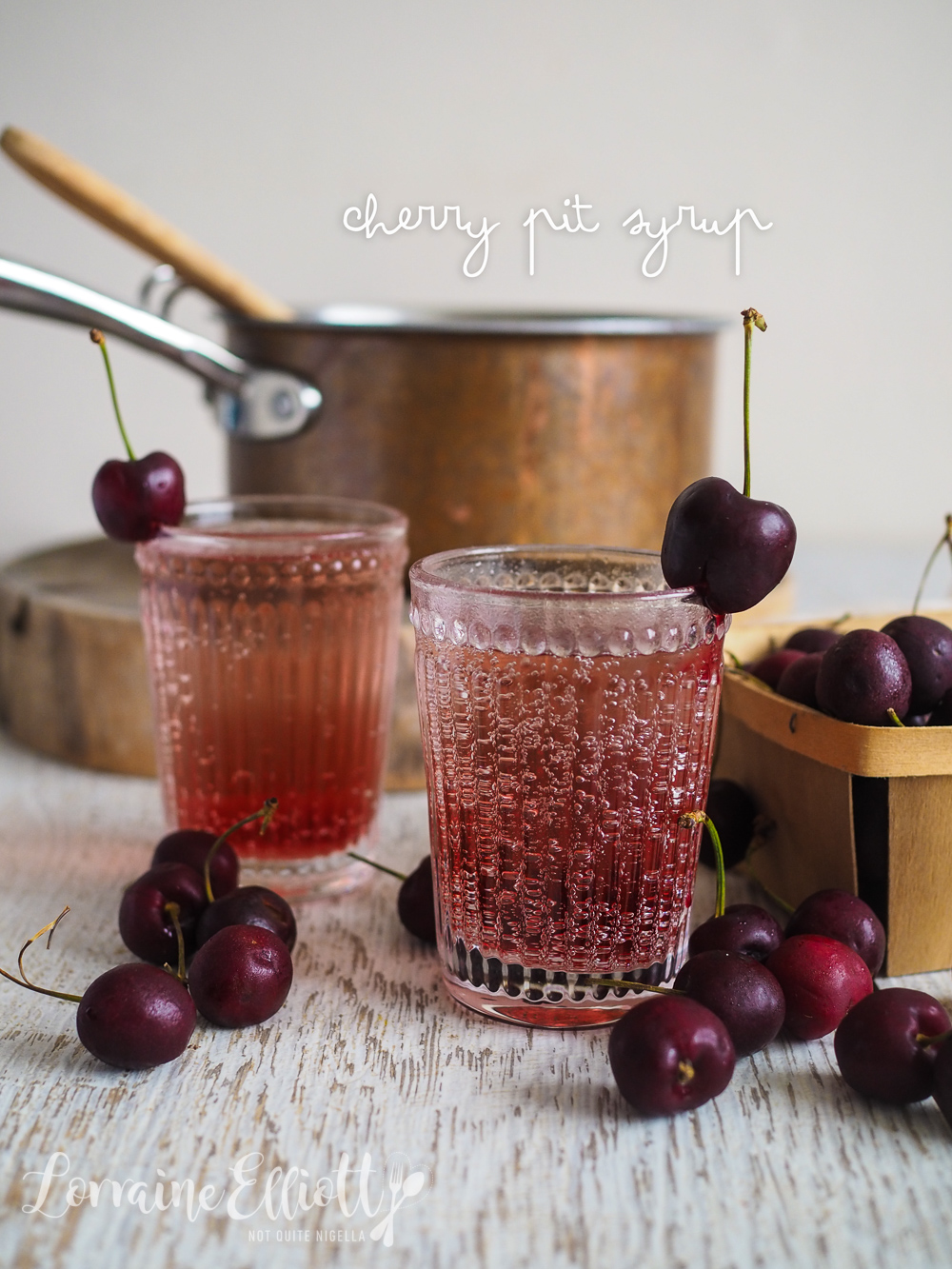 Cherry Pit Syrup
