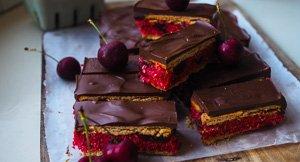 Cherrific Cherry Ripe Slice