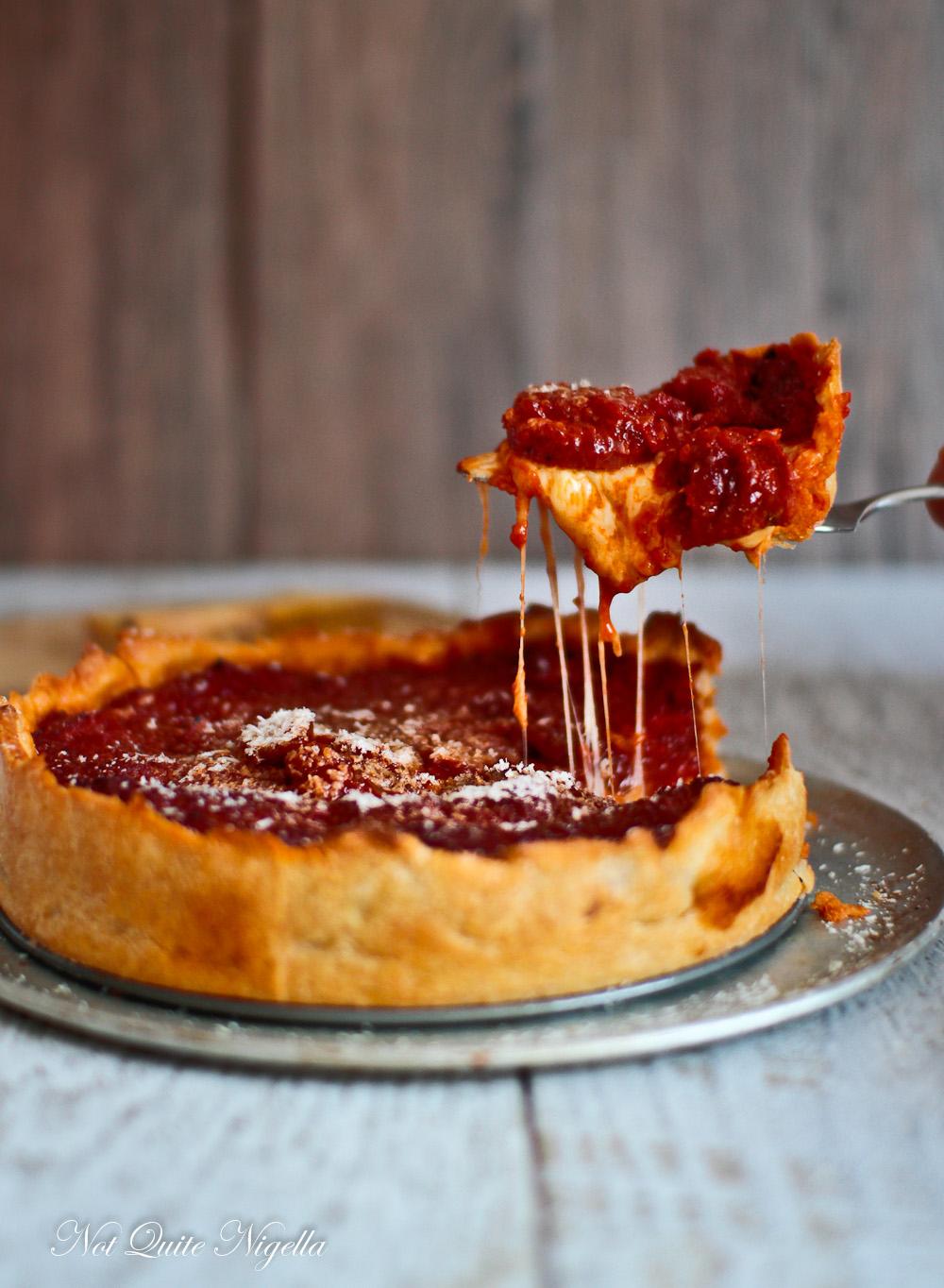 Chicago Pizza Recipe