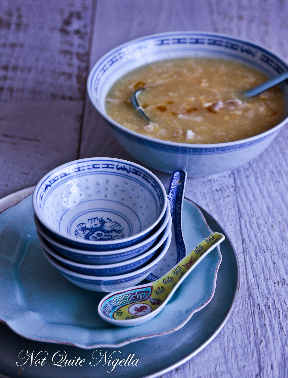 Chinese Chicken Corn Soup