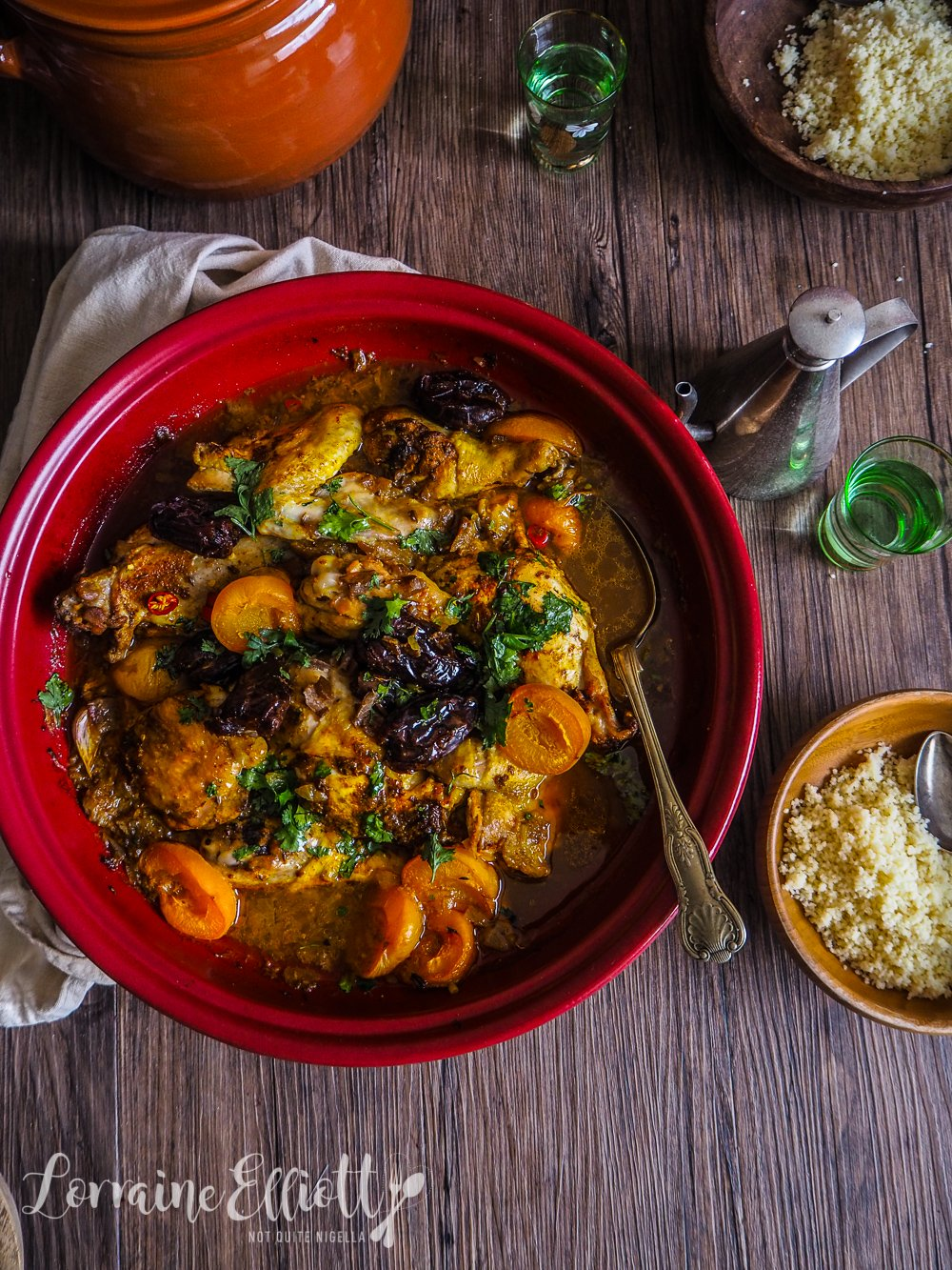 Chicken, Date & Apricot Tagine
