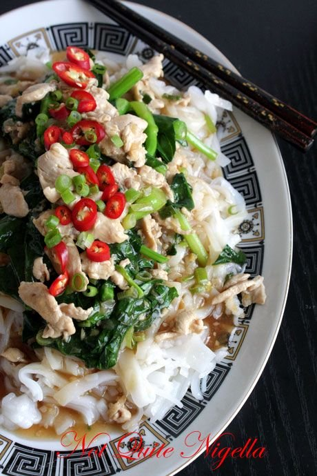 Chicken Hor Fun Noodles & A Glimpse Into Family History