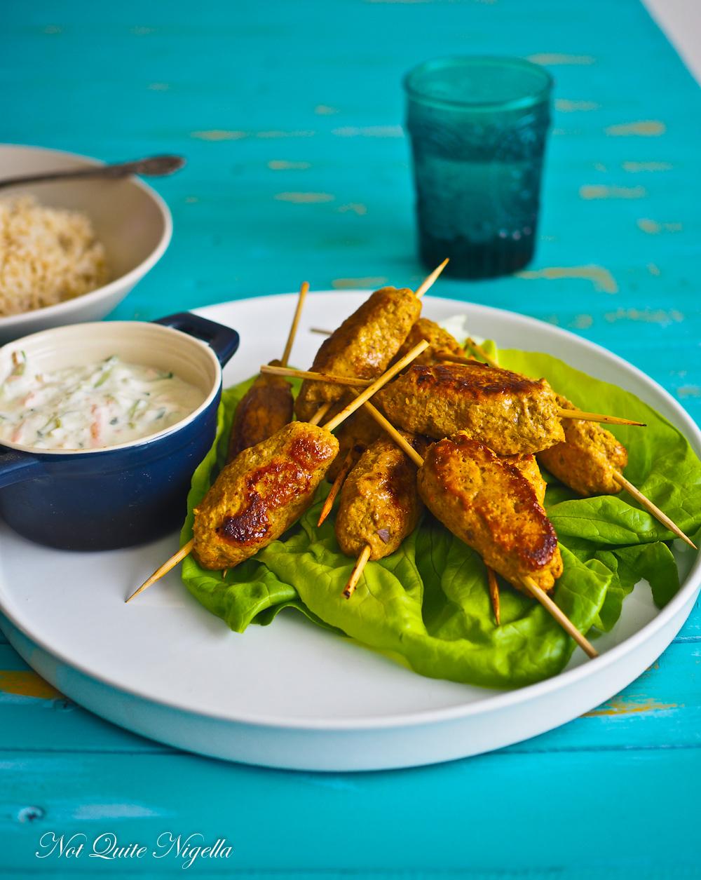 Chicken Mince Kebabs