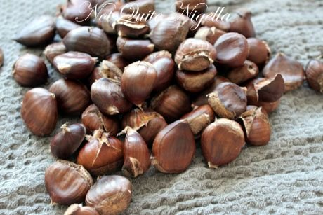 Chilli spiced chestnut recipe, cooking chestnuts