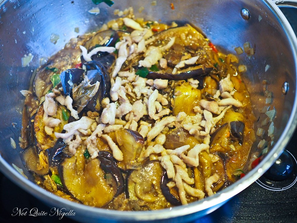 Chinese Eggplant Recipe Braised