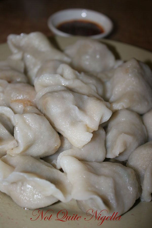 Chinese Dumpling Noodle House Kingsford boiled northern style dumplings