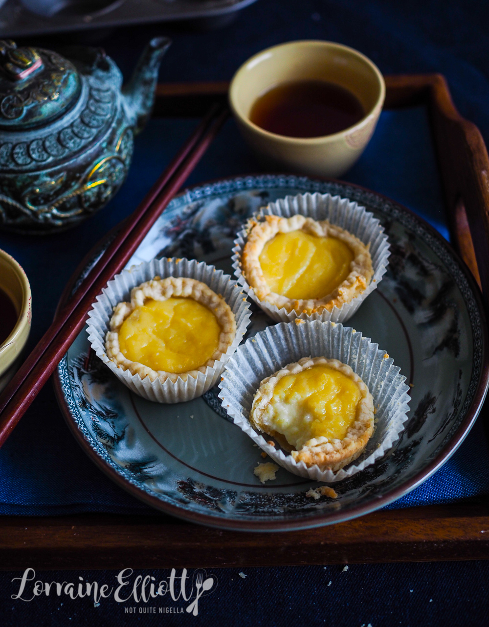 Chinese Egg Custard Dan Tarts