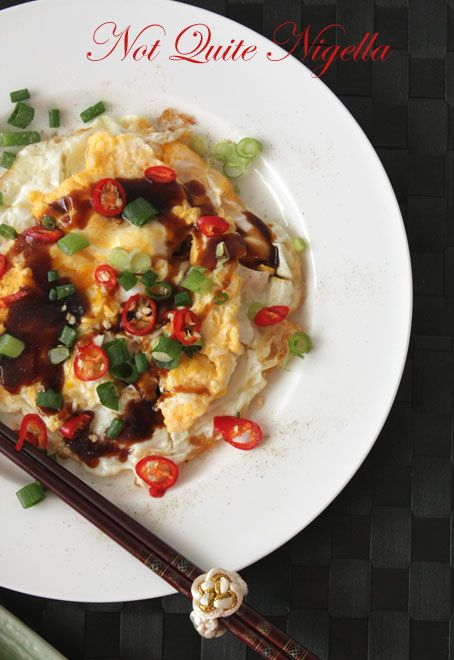 Chinese Homestyle Eggs - the 10 minute dinner!