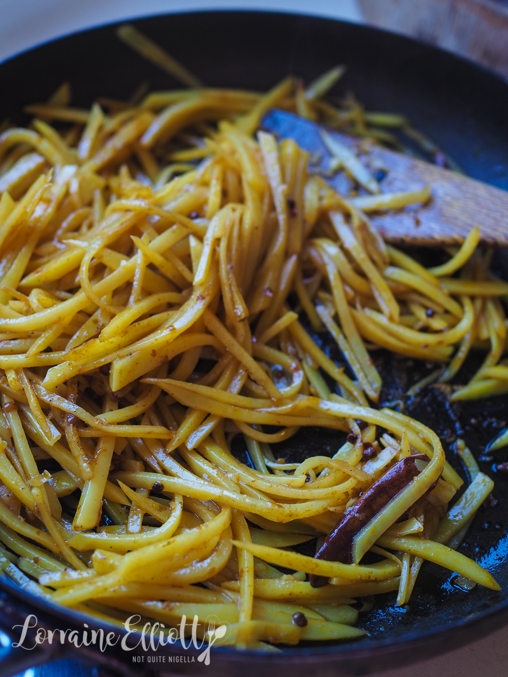 Chinese Shredded Potatoes