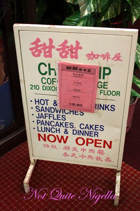 ching yip chinatown  sign