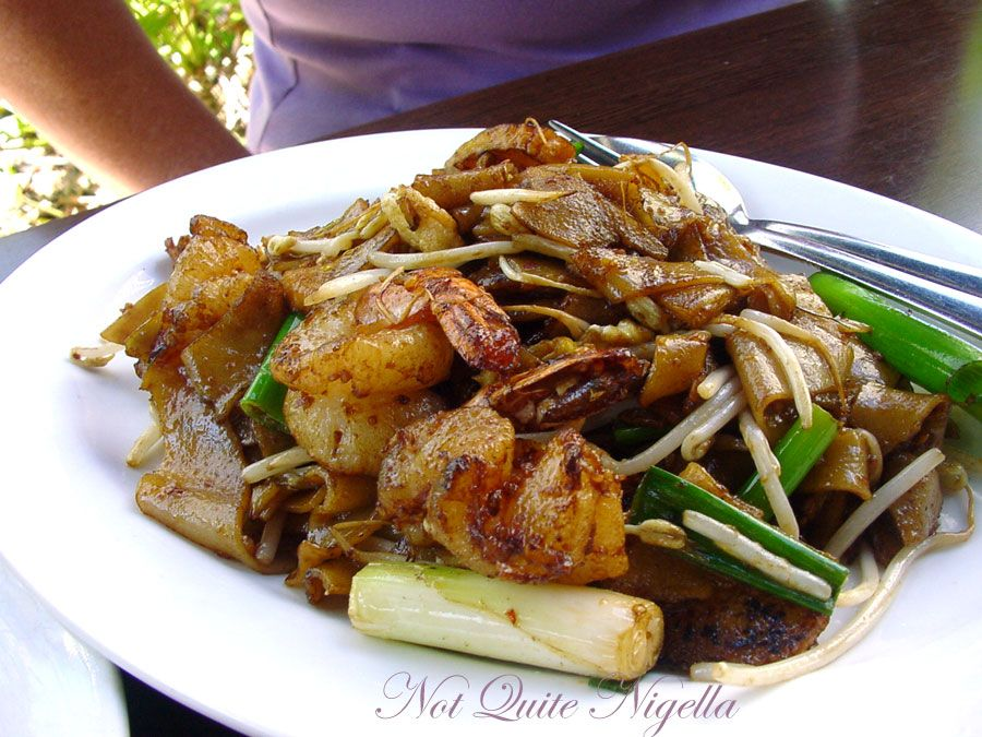 Chinta Ria, Temple of Love restaurant at Darling Harbour Fried Kway Teow