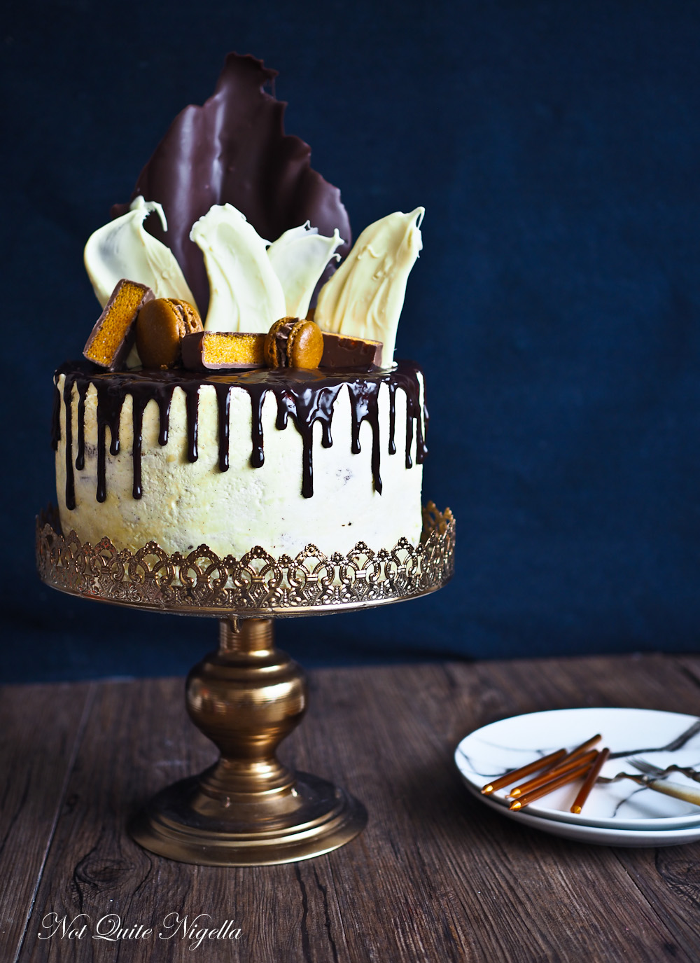 Chocolate Ganache Drip Cake Not Quite Nigella