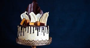 Queenie: The Luscious Four Layer Chocolate Ganache Drip Cake That Anyone Can Do!