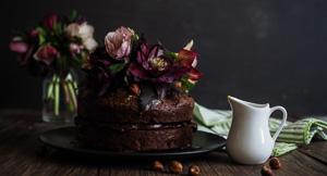 Passion Of The Cake - Chocolate Passion Fruit & Hazelnut Cake
