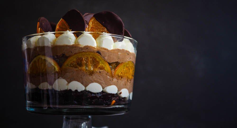 Woolworths Chocolate Orange Mud Cake Hack Trifle Not Quite Nigella