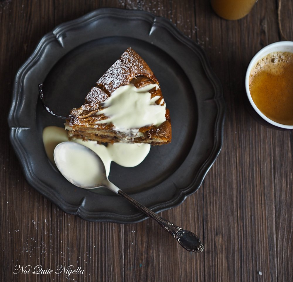 Pear Chocolate Cake