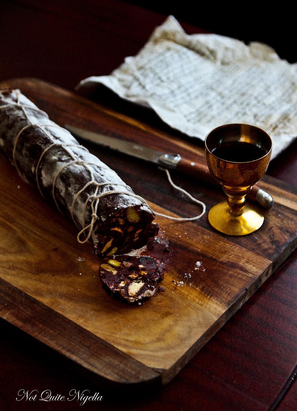 Recipes of chocolate sausage