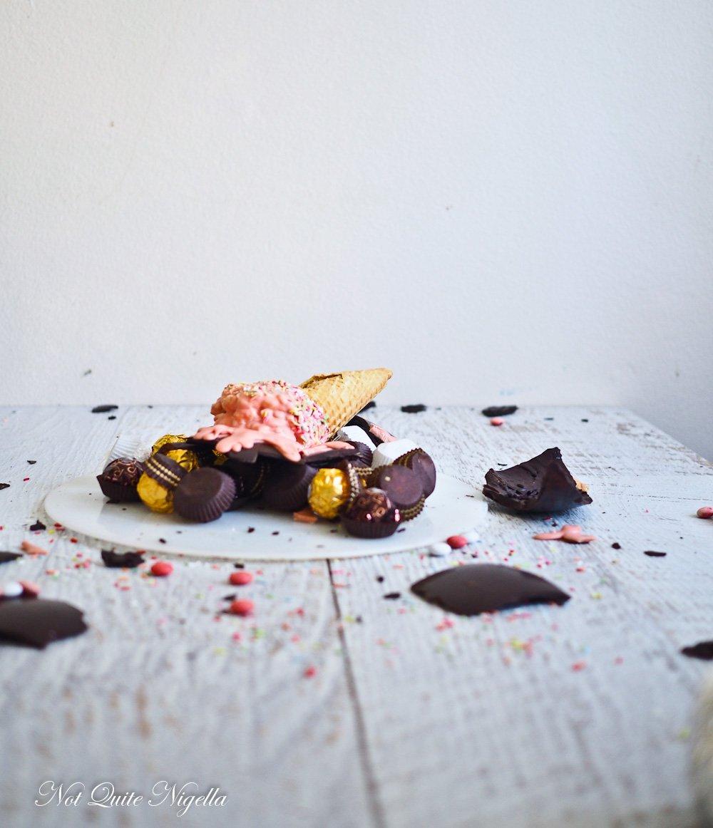 Chocolate Smash Pinata Cake