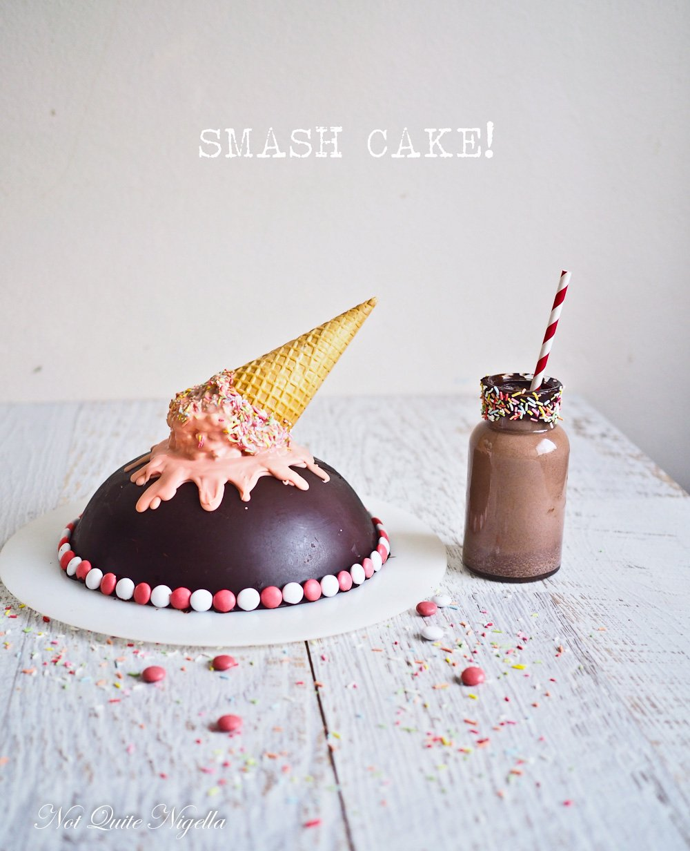 Chocolate Smash Pinata Cake