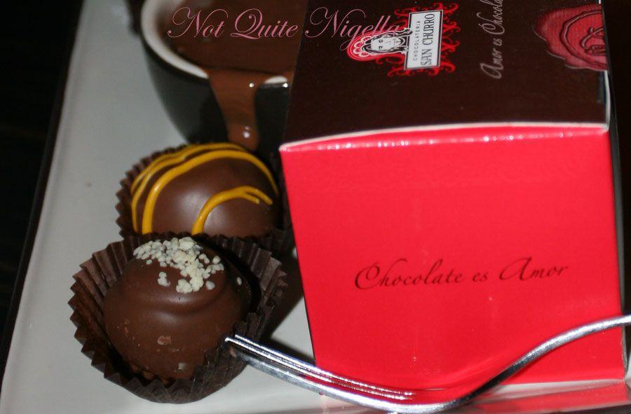 Chocolateria San Churro truffles