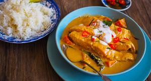 EASY Salmon Choo Chee Thai Curry & Win!