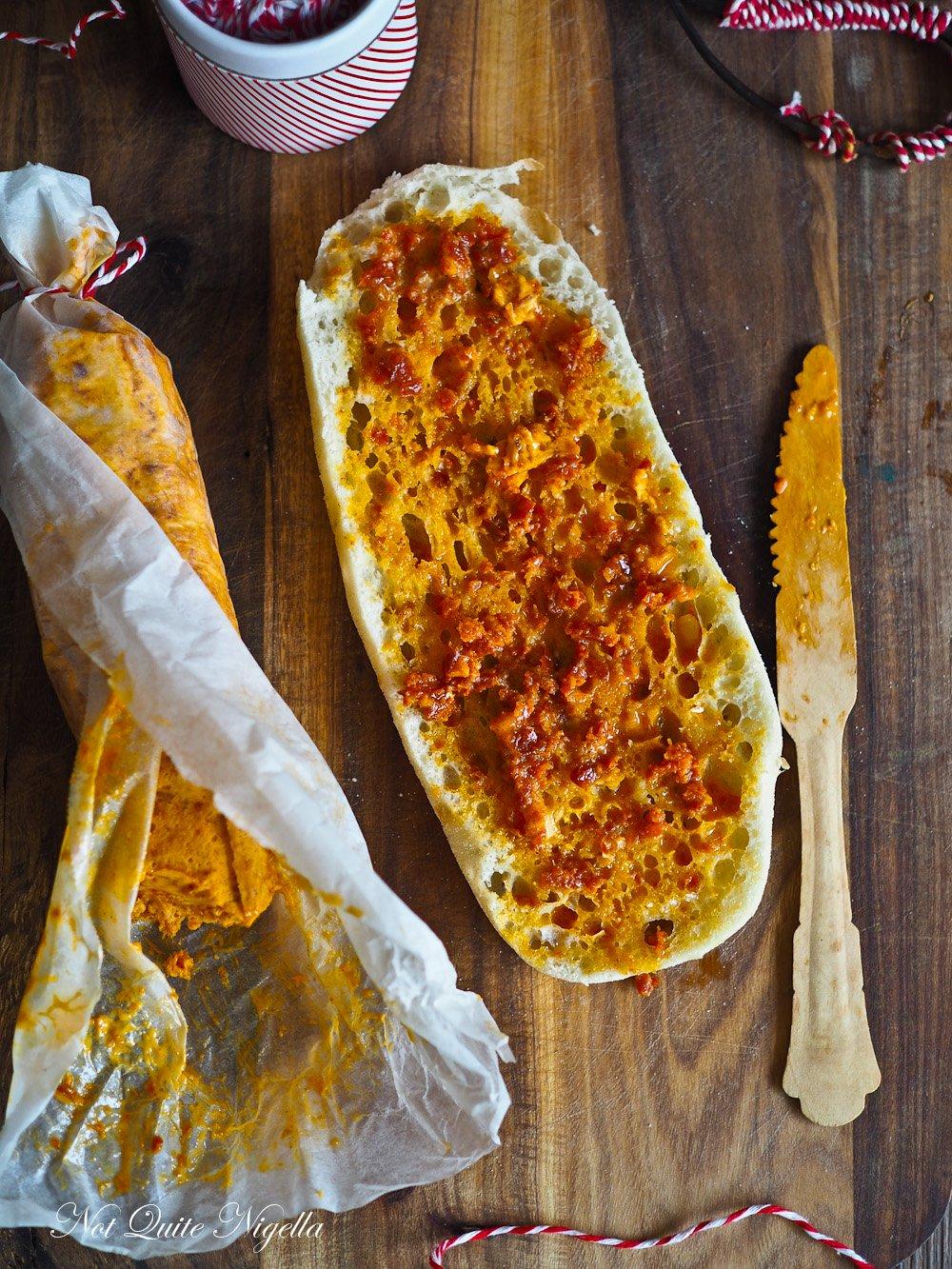 Chorizo Butter