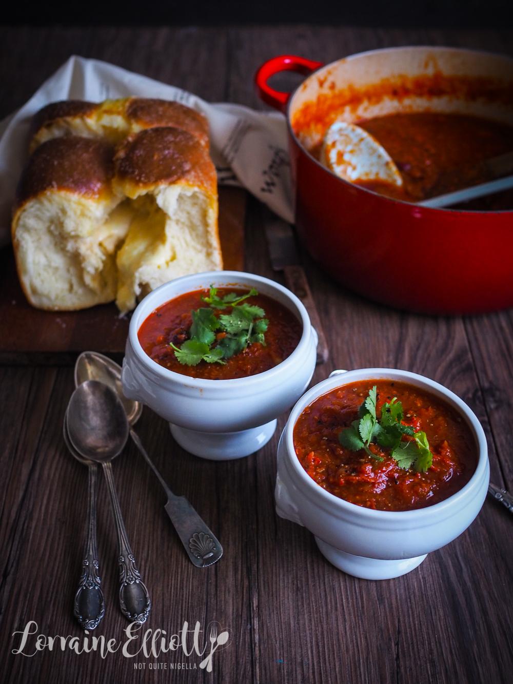 Chorizo and Tomato Soup