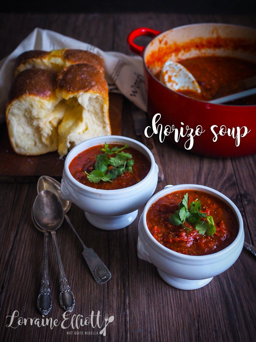 Chorizo Tomato Soup