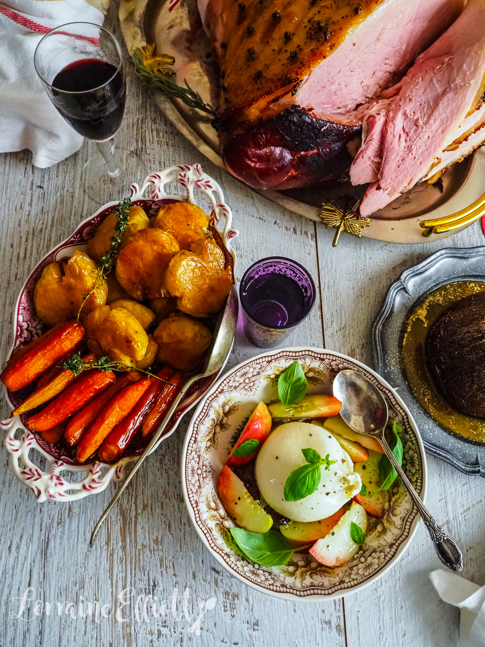 Two Amazing Christmas Ham Glazes and Three Easy Sides