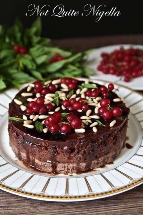 Ham In Root Beer Chocolate Pomegranate Cake Not Quite