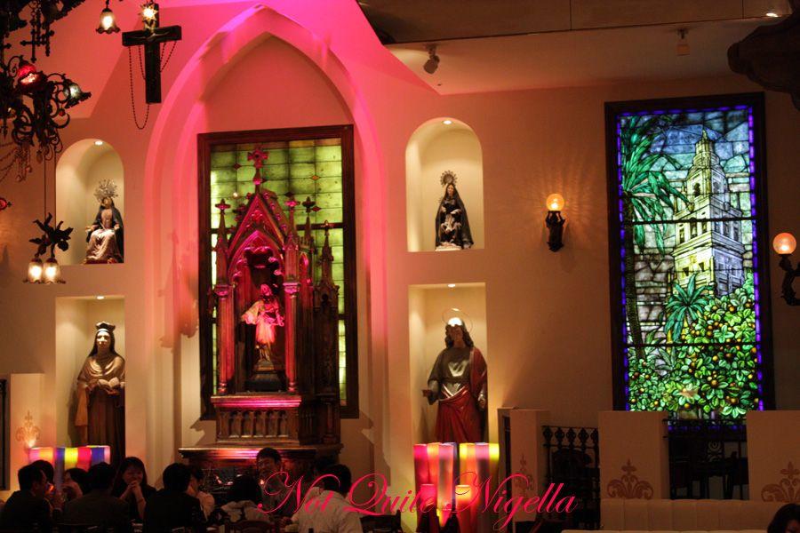 Christon cafe tokyo Altar