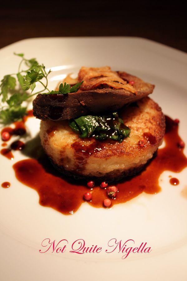 Christon cafe tokyo foie gras
