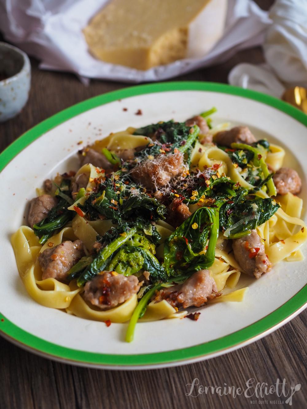 Cime Di Rapa Broccoli Rabe Sausage Pasta