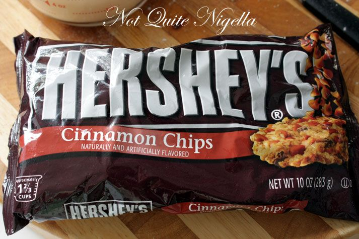 Cinnamon Chocolate Chip Hot Cross Buns