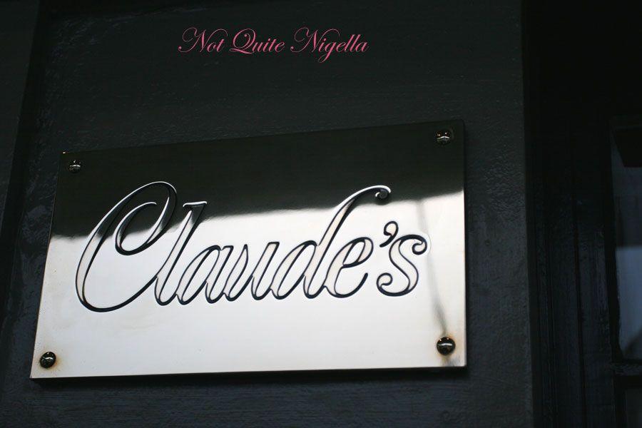 Claude's at Woollahra