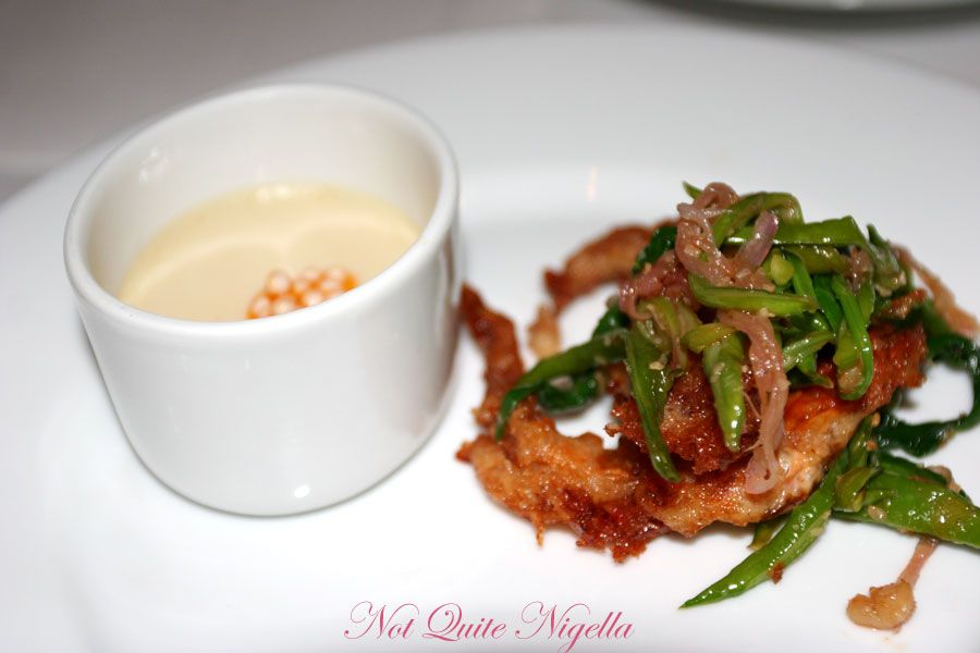 Claude's at Woollahra Soft shell crab