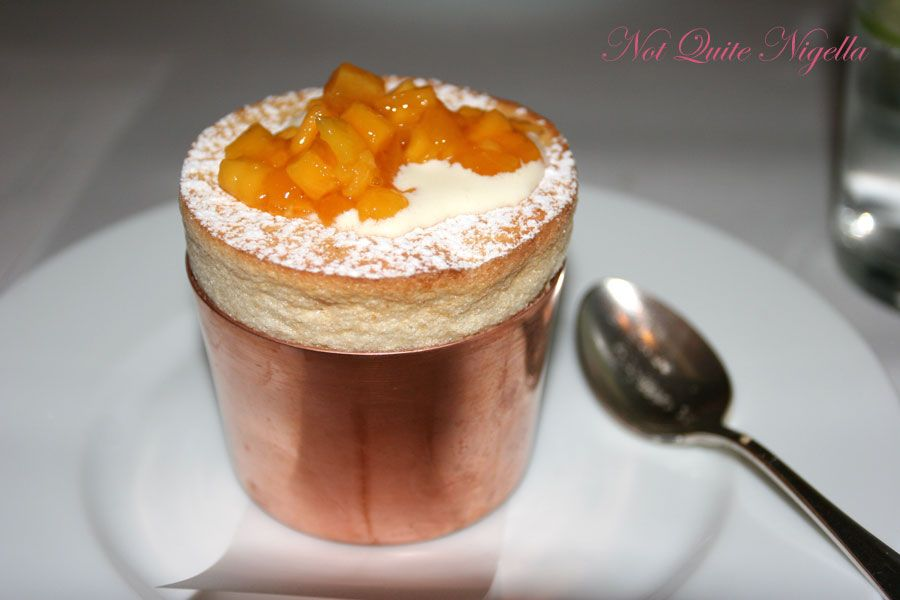 Claude's at Woollahra-pineapple souffle