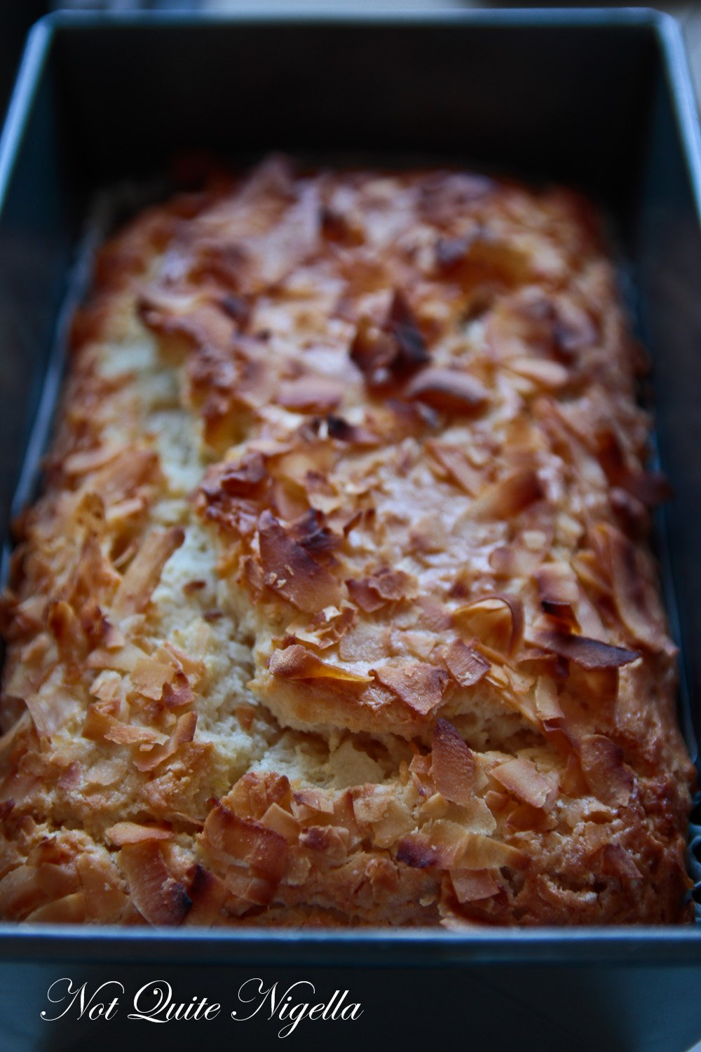 Coconut Lime Bread
