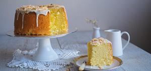 LIGHT & FLUFFY Coconut Chiffon Cake