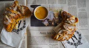 Breakfast In Bread! Coconut Croissants