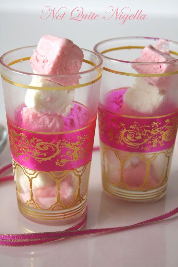 """""""Coconut Ice"""" Ice Cream"""