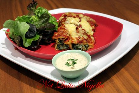 carnation soy cannelloni