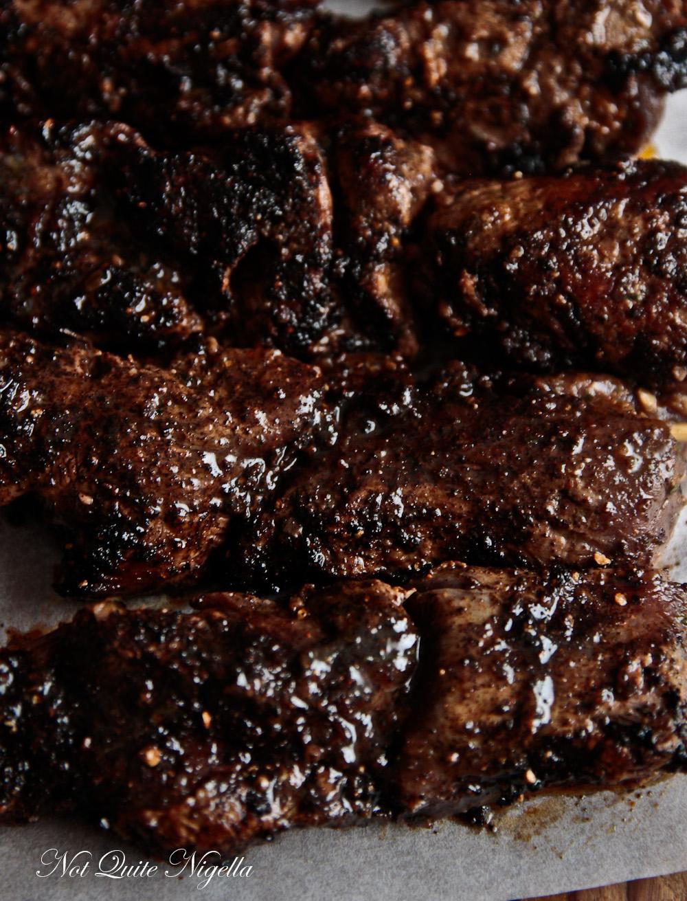 Coffee Crusted Steak