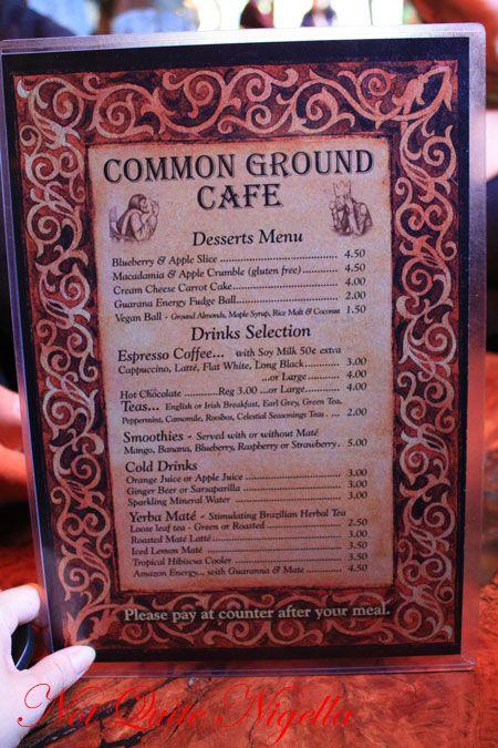 common ground katoomba menu