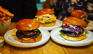 Burgers of the World at Concept Burger, Wolli Creek