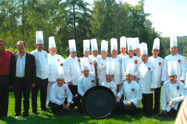 chef des chef meeting in the cezch republic