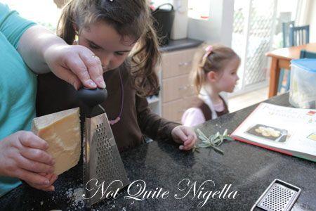 polenta gnocchi recipe, silver spoon kids