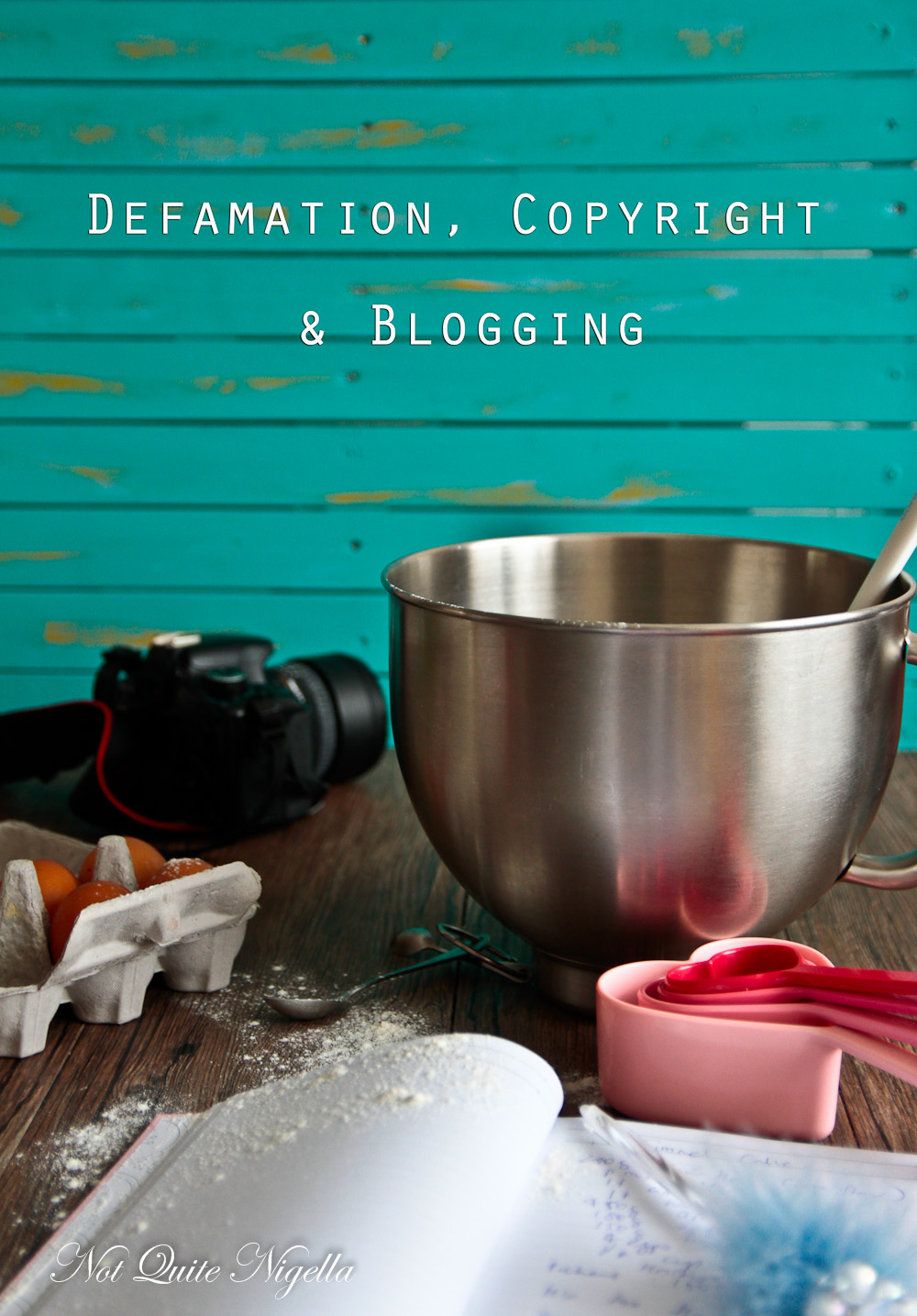 Copyright Defamation Blogging