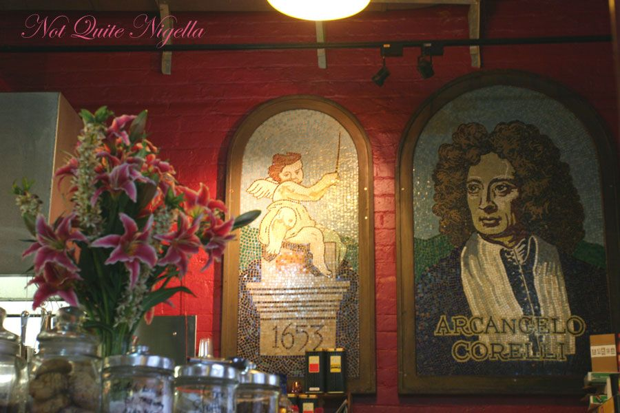 Corelli's Gallery Cafe Inside